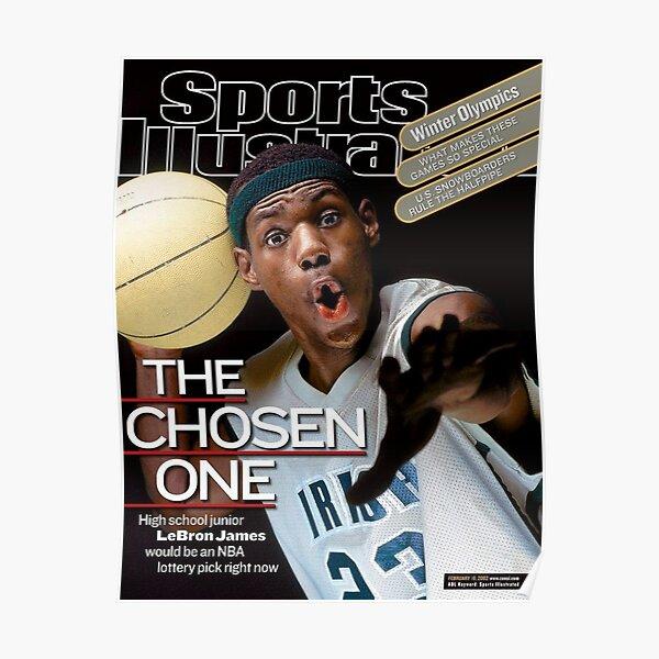 LeBron James The Chosen One Poster