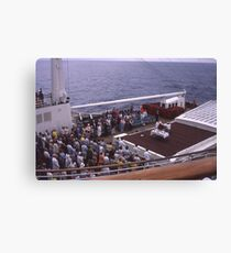 World Cruise 1972 Canvas Print