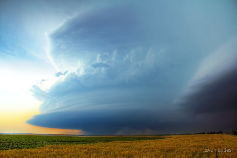 Churning the Sky by Evan Ludes