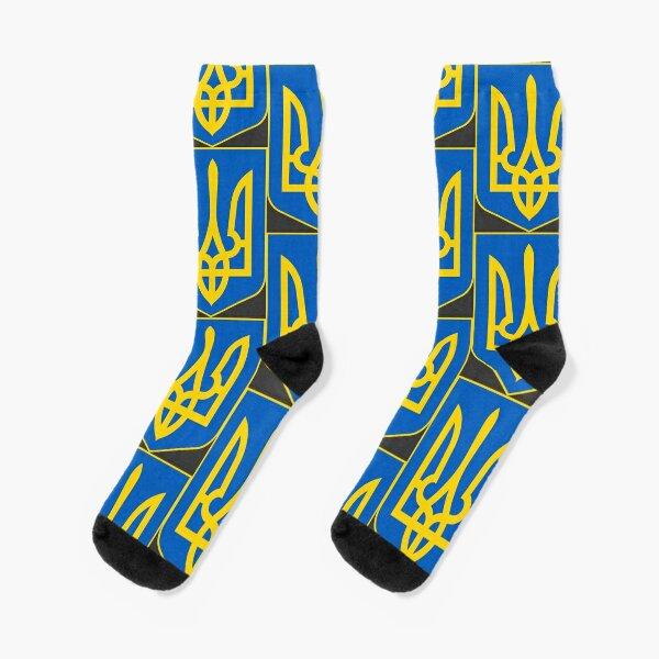 Ukraine coat of arms Socks