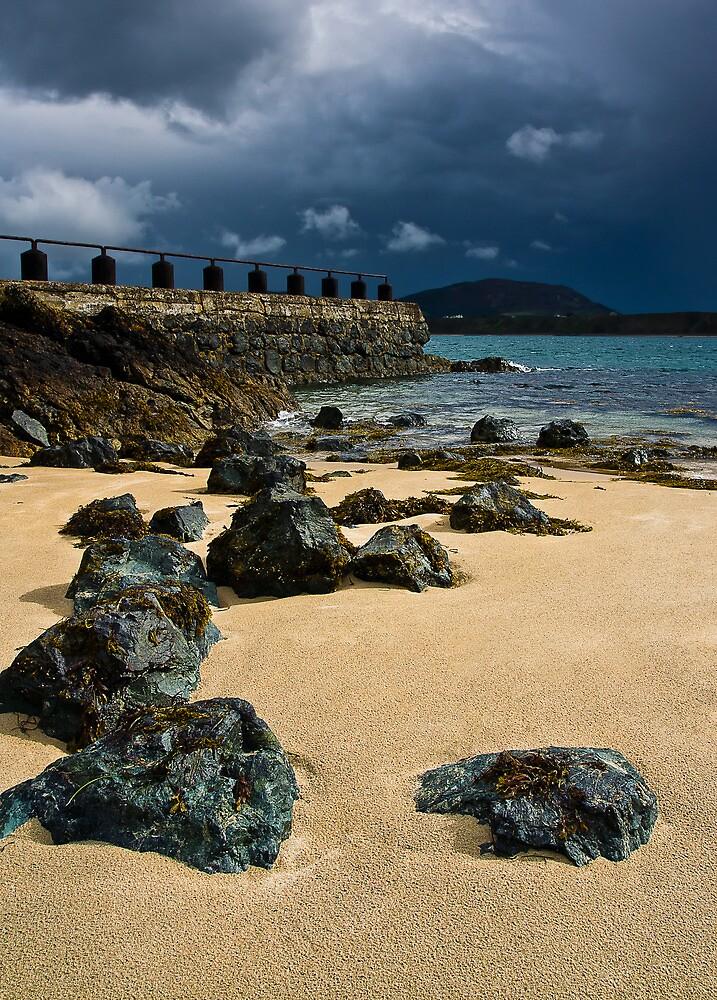 Lifeboat Bay Lynn Peninsula, Wales by Jim Round
