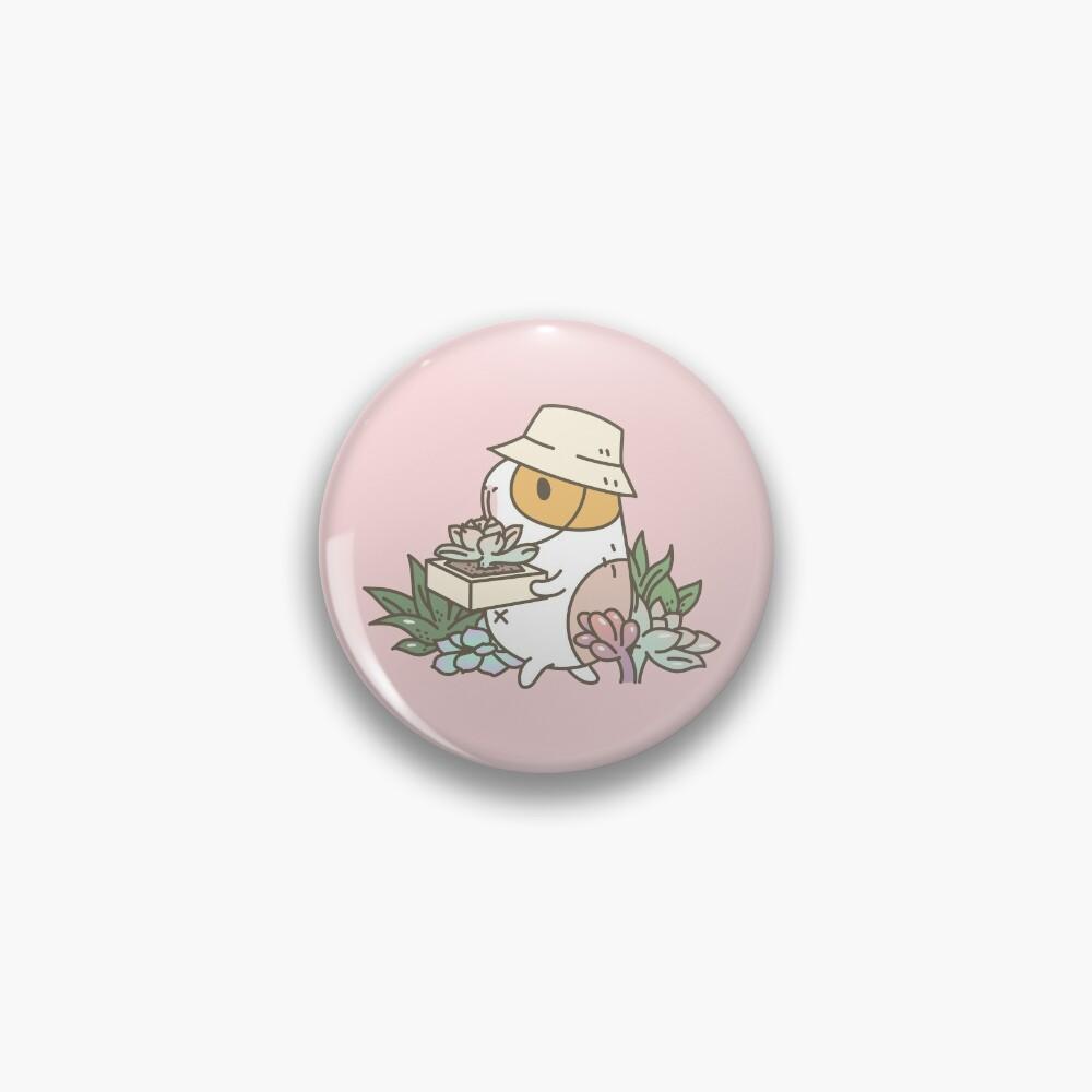 Bubu the Guinea Pig, Succulent Love Pin