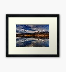 Ben Venue from Loch Achray,The Trossachs, Scotland Framed Print