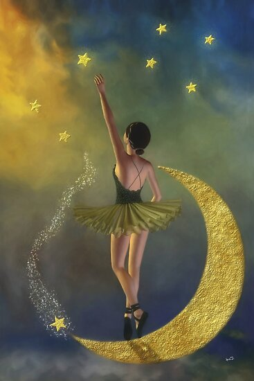 Reaching for the Stars * Ballerina  by Ana CB Studio