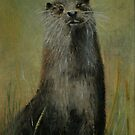 Otter by Lynn Hughes