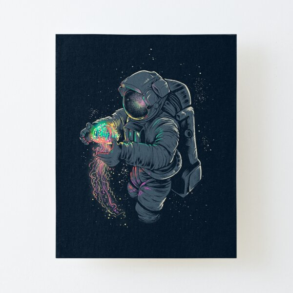Jellyspace Canvas Mounted Print