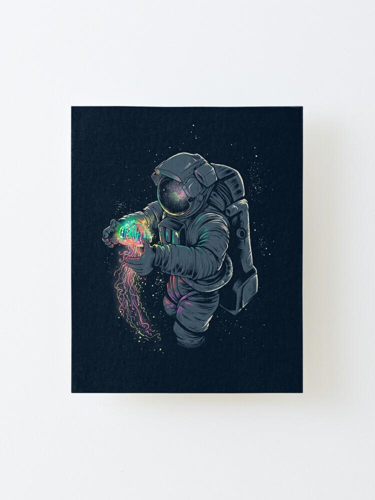Alternate view of Jellyspace Mounted Print