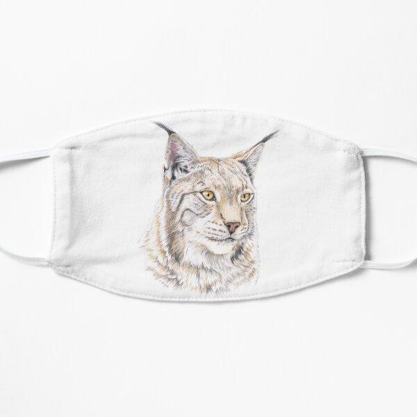 Lynx - Colored Pencil Mask