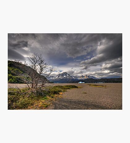 The Shore of Lago Grey Photographic Print