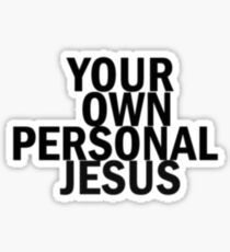 Personal Jesus Sticker