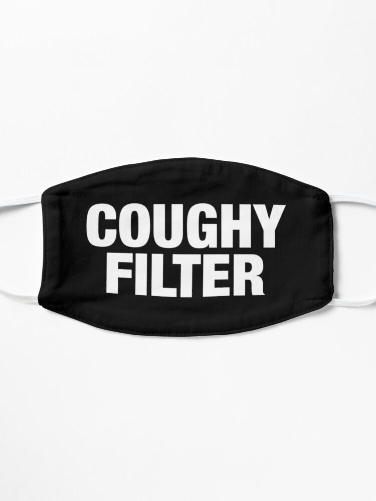 Alternate view of Coughy Filter Pun Mask