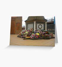 Anzac  Day - 2012 Echuca - Echuca Memorial Greeting Card