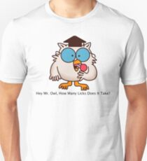 How Many Licks Does It Take? T-Shirt