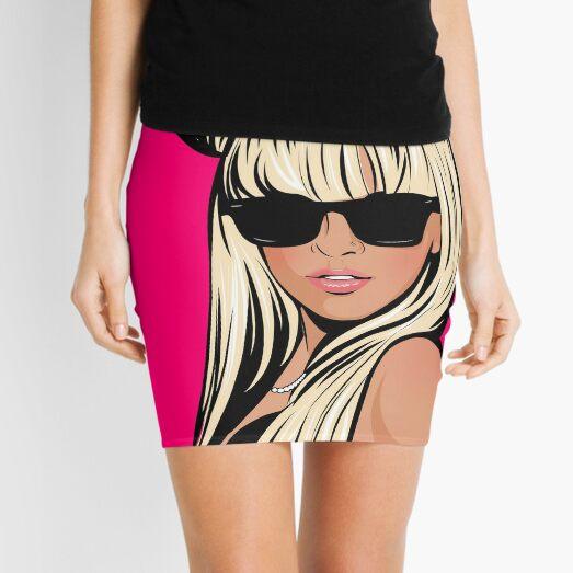 Pop Art 2 Mini Skirt