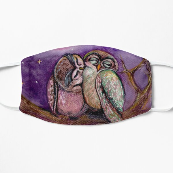 Owls in love Mask