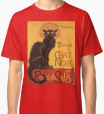 Soon, the Black Cat Tour by Rodolphe Salis Classic T-Shirt
