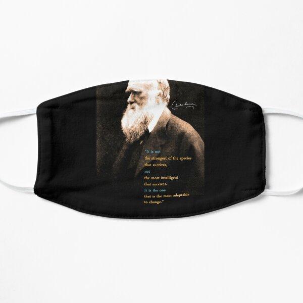 Charles Darwin Quote 3 Flat Mask