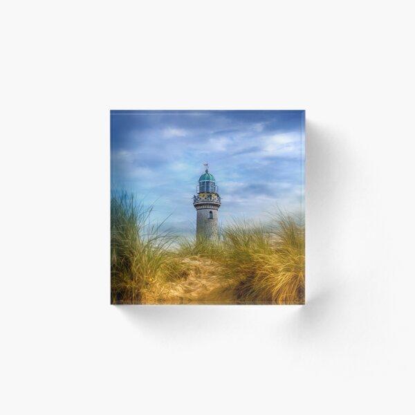 Lighthouse - Baltic Sea Acrylblock