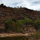 The Hill - Ross Graham Gorge - Kalbarri by John Pitman