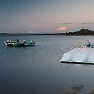 The Pontoon - Murchison River - Kalabarri by John Pitman