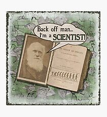 Popular Science: Charles Darwin 2 (distressed) Photographic Print