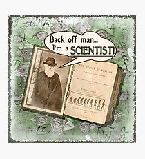 Popular Science: Charles Darwin (distressed) Photographic Print