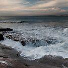 The Washing Machine - Red Bluff Beach - Kalbarri by John Pitman