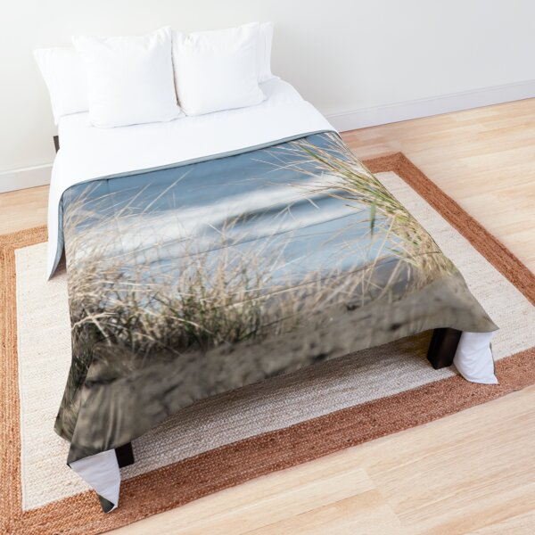 The Beach Beckons   Path To Ocean Shore Comforter