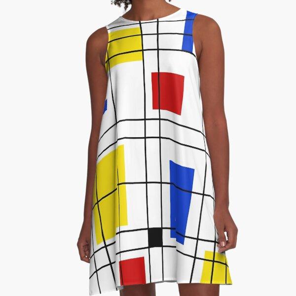 Neo-Plasticism A-Line Dress