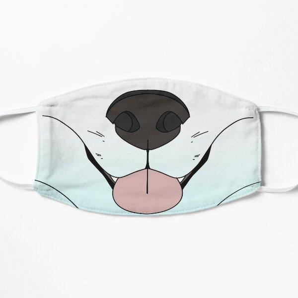Arctic Fox Face Mask Flat Mask