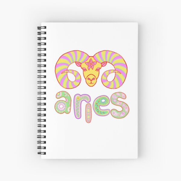 Dynamic Aries Spiral Notebook