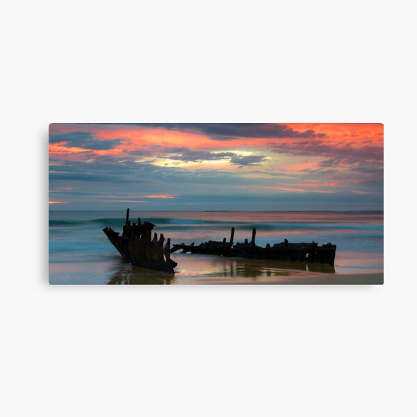 Sunrise at SS. Dicky Canvas Print