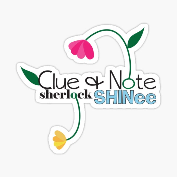 Clue & Note  Sticker