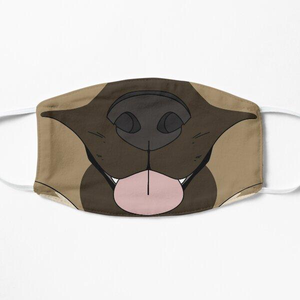 German Shepard Face Mask Flat Mask