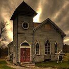 Rural Church by ifreedman