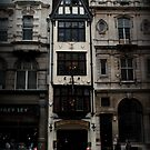 Fleet Street: Ye Olde Cock Tavern by rsangsterkelly