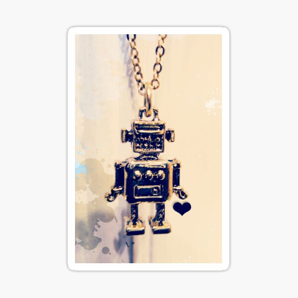Mr. Roboto Sticker