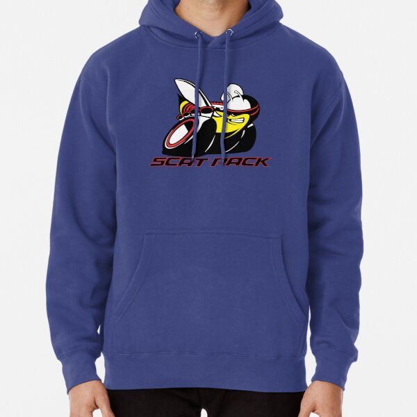 Scat Pack Red Outline Pullover Hoodie