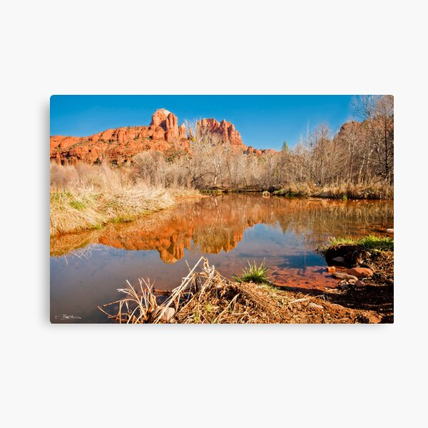 View to Cathedral Rock, Sedona Canvas Print