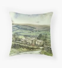 Stalling Busk ~ The Stallion's Bush Throw Pillow