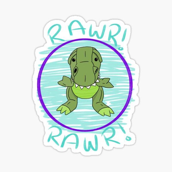 Cute T-Rex Sticker