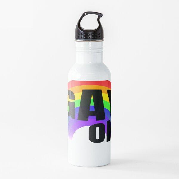 Rainbow Gay Ok LGBT Pride Water Bottle