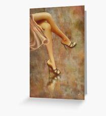 She * Wall Art Greeting Card