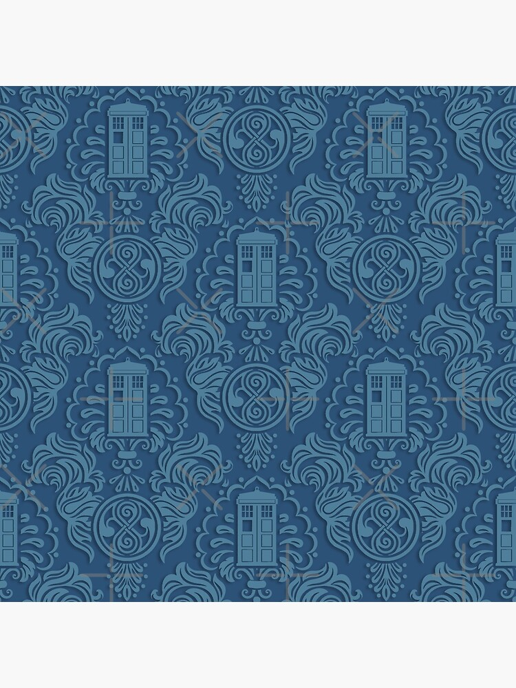 Doctor's Damask by ninthstreet