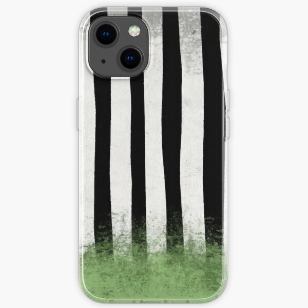 Beetlejuice Stripes iPhone Soft Case