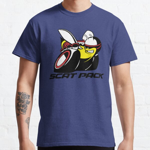 Scat Pack Black Letters Classic T-Shirt