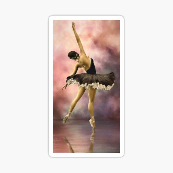 The Ballerina * Art Sticker