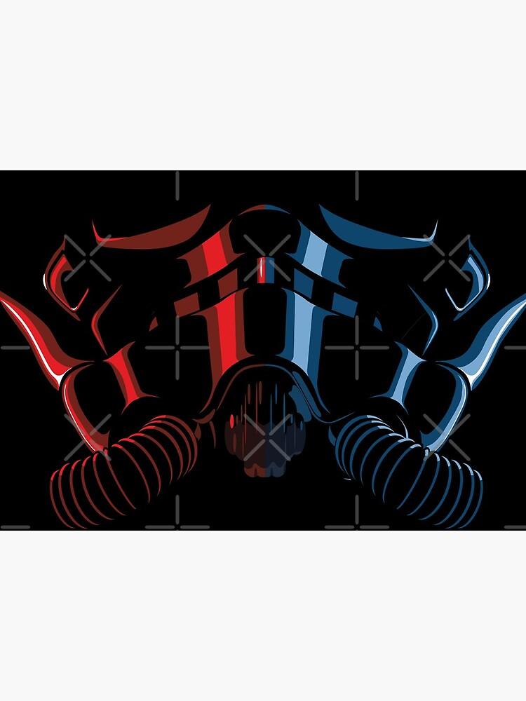 Sci-fi fighter pilot helmet by Mechanick