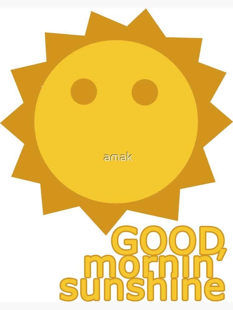 Sunshine  by amak