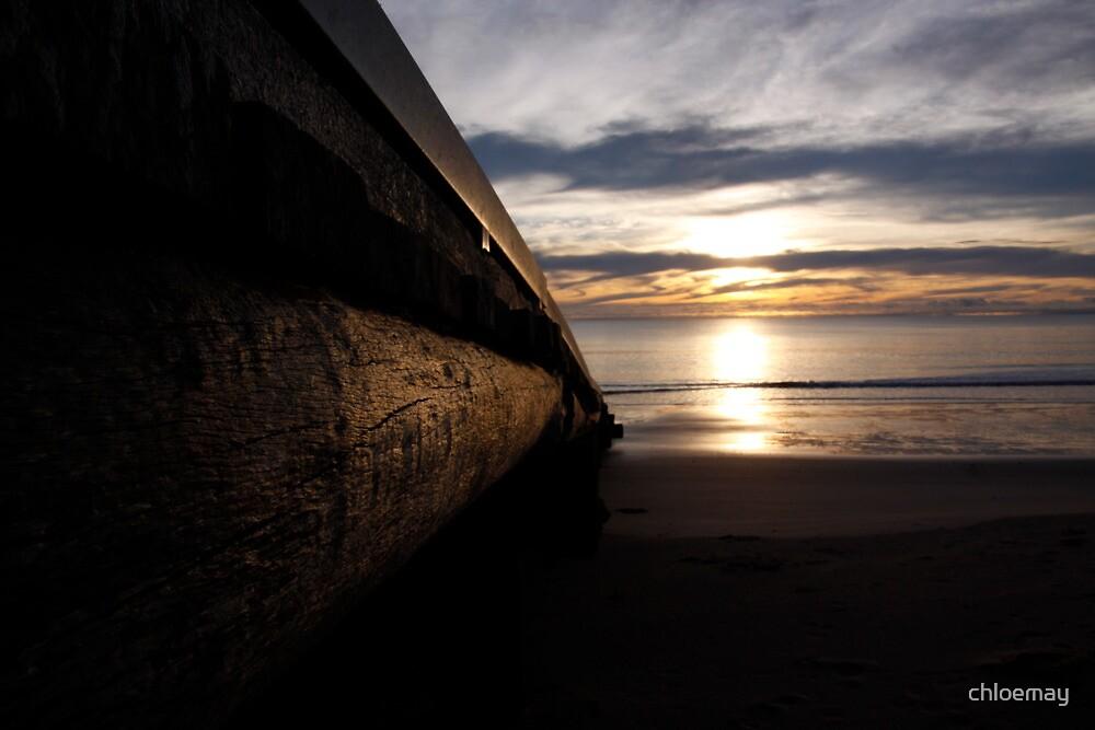 Boat ramp at dawn by chloemay